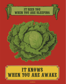 Poster: The Lovable Lettuce